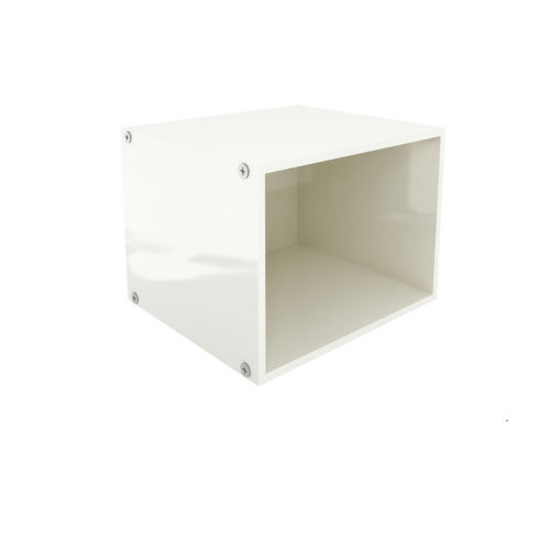 Base Microwave Open Cabinet