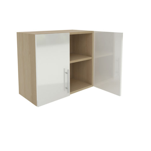 Wall One Shelf Cabinet